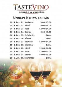 tastevino_unnepi_nyitva