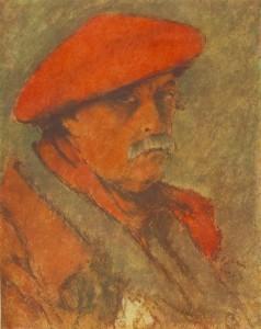 Rippl-Rónai_József_Vörössapkás_önarckép